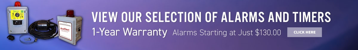 View our selection of alarms and timers. 1-year warranty. Alarms starting at just $130.00.