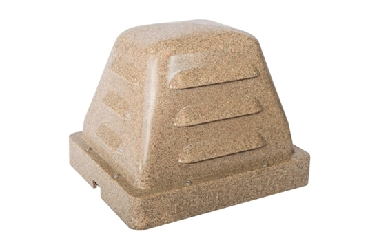 Retro-Air Pod with Base Plate - Sandstone