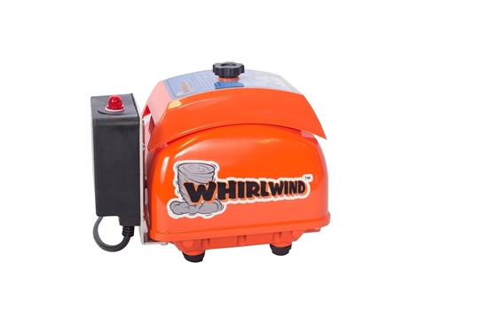 Whirlwind STA120AL Septic Air Pump with Low Pressure Alarm