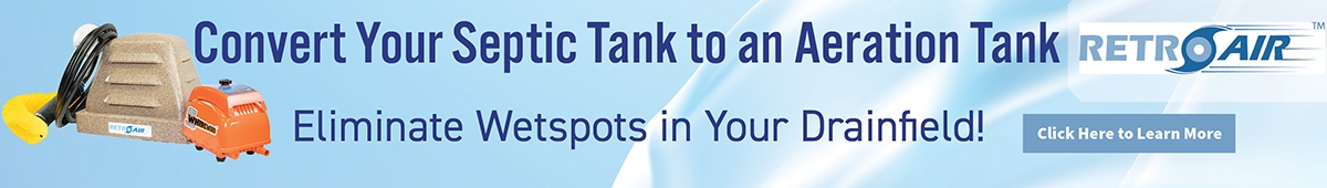 Are you ready to convert your septic tank to an aeration tank?